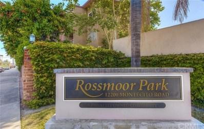 12200 Montecito Road UNIT A105, Seal Beach, CA 90740 - MLS#: PW18199904