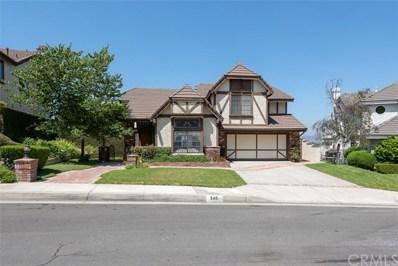 540 S Londerry Lane, Anaheim Hills, CA 92807 - MLS#: PW18201209