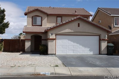 14845 Carter Road, Victorville, CA 92394 - MLS#: PW18203895