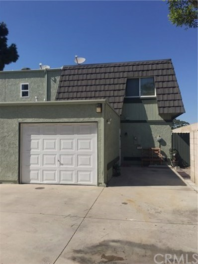 1612 Iowa Street UNIT D, Costa Mesa, CA 92626 - MLS#: PW18229591