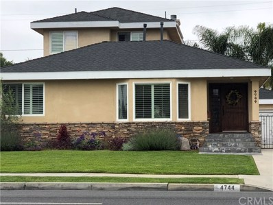4744 Palo Verde Avenue, Lakewood, CA 90713 - MLS#: PW18231011