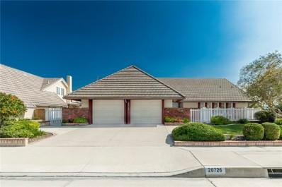 20726 Cottonwood Road, Yorba Linda, CA 92887 - MLS#: PW18235500