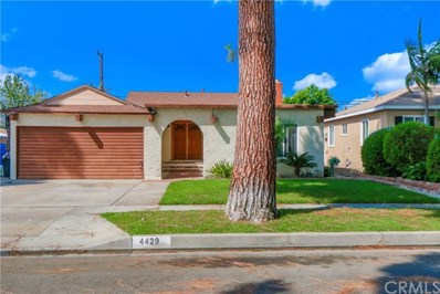 4429 Knoxville Avenue, Lakewood, CA 90713 - MLS#: PW18240496
