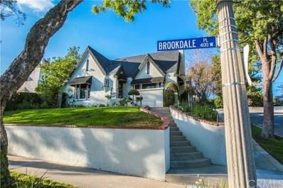 401 W Brookdale Place, Fullerton, CA 92832 - MLS#: PW18249756