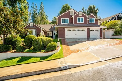 616 S Andover Drive, Anaheim Hills, CA 92807 - MLS#: PW18253713