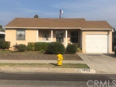 14526 S Cahita Avenue, Compton, CA 90220 - MLS#: PW18262226