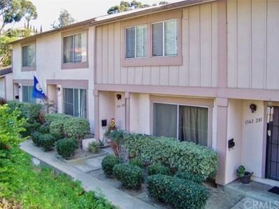 1542 Sonora Drive UNIT 282, Chula Vista, CA 91911 - MLS#: PW18277534