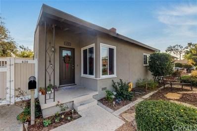 620 W Porter Ave, Fullerton, CA 92832 - MLS#: PW18281775