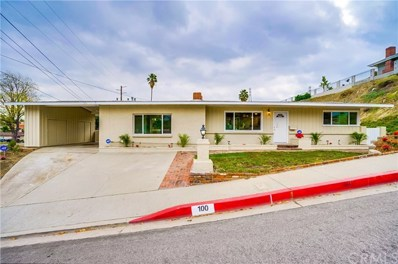 100 W El Repetto Drive, Monterey Park, CA 91754 - MLS#: PW18285997
