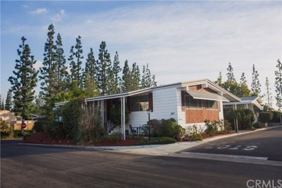 2851 Rolling Hills Drive UNIT 267, Fullerton, CA 92835 - MLS#: PW18292746