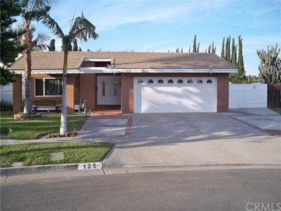 125 S Alice Circle, Anaheim, CA 92806 - MLS#: PW18295532