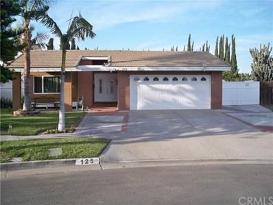125 S Alice Circle, Anaheim, CA 92806 - MLS#: PW18295532