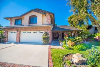 4555 Vallecito Lane, Yorba Linda, CA 92886 - MLS#: PW19004718