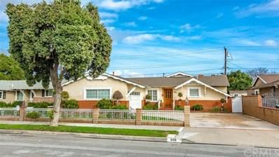 648 S Bruce Street, Anaheim, CA 92804 - MLS#: PW19018005