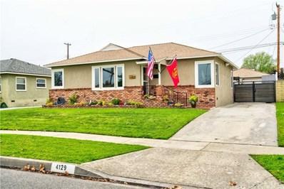 4129 Conquista Avenue, Lakewood, CA 90713 - MLS#: PW19034956