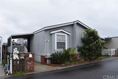 4801 W 1 Street UNIT 107, Santa Ana, CA 92703 - MLS#: PW19085504