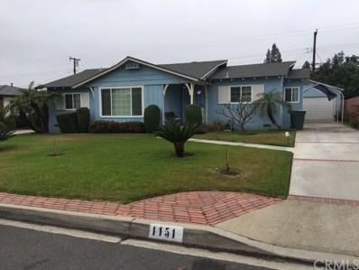 1151 E Grovecenter Street, West Covina, CA 91790 - MLS#: PW19095735