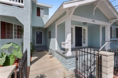 216 S Halladay Street, Santa Ana, CA 92701 - MLS#: PW19106926