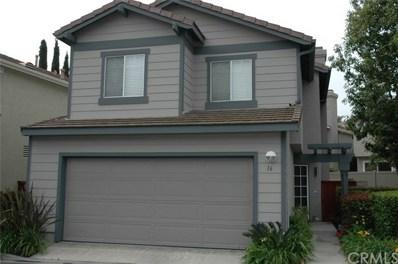 16 Amador Way, Aliso Viejo, CA 92656 - MLS#: PW19121545