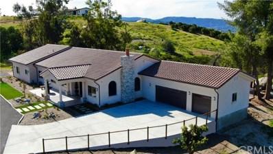 38125 Camino Sierra Road, Temecula, CA 92592 - MLS#: PW19130748