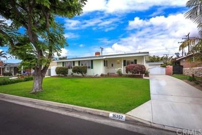 16357 Lisco Street, Whittier, CA 90603 - MLS#: PW19131786