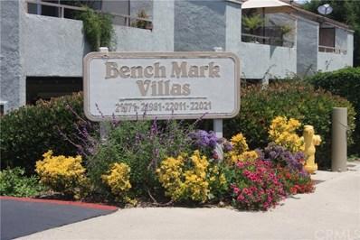 21971 Rimhurst Drive UNIT 172, Lake Forest, CA 92630 - MLS#: PW19134331