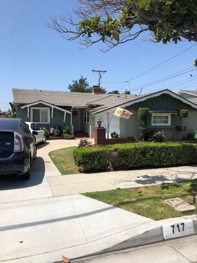 717 W Oakwood Street, Montebello, CA 90640 - MLS#: PW19159311
