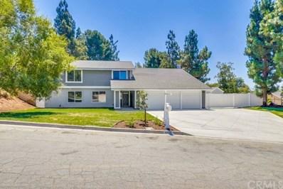 5454 Berryhill Drive, Yorba Linda, CA 92886 - MLS#: PW19162242