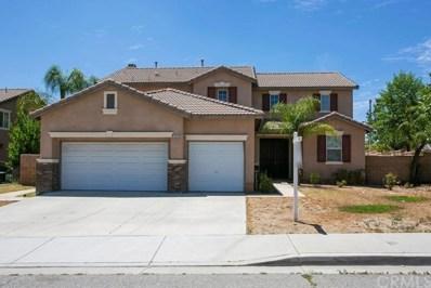 12615 Barbazon Drive, Moreno Valley, CA 92555 - MLS#: PW19174284