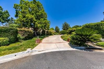 4755 Lasheart Drive, La Canada Flintridge, CA 91011 - MLS#: PW19189621