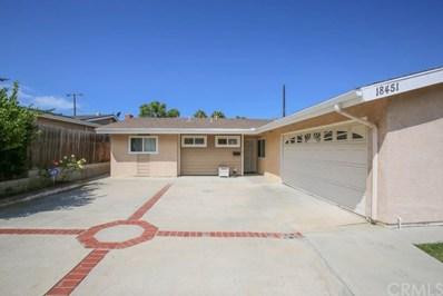 18451 Delaware Street, Huntington Beach, CA 92648 - MLS#: PW19210356