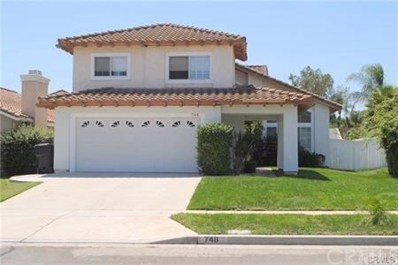 748 June Drive, Corona, CA 92879 - MLS#: PW19225978