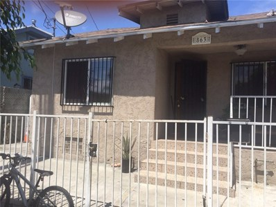 863 E 40th Place, Los Angeles, CA 90011 - MLS#: PW19226107