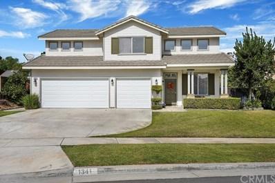 1341 Woodvale Drive, Corona, CA 92879 - MLS#: PW19243864
