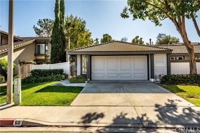 60 Laurel Creek Lane, Laguna Hills, CA 92653 - MLS#: PW19250704