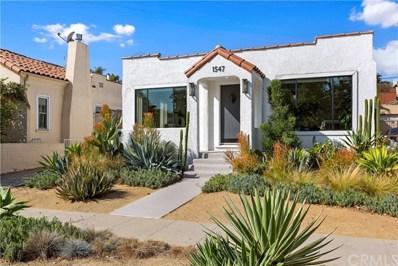 1547 Carmona Avenue, Los Angeles, CA 90019 - MLS#: PW19254858