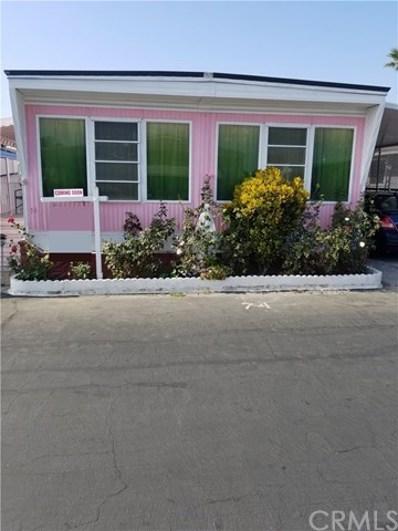 3929 W 5th UNIT 74, Santa Ana, CA 92703 - MLS#: PW19266393