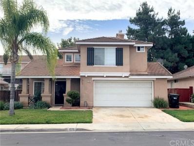 578 Pointe Vista Court, Corona, CA 92881 - MLS#: PW19274342
