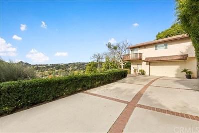 431 E Avocado Crest Road, La Habra Heights, CA 90631 - MLS#: PW20004260