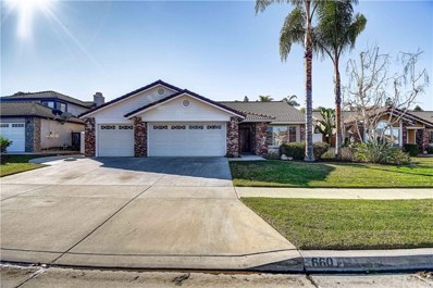 660 Black Oak Circle, Corona, CA 92881 - MLS#: PW20011644
