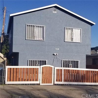 712 N Brannick Avenue, Los Angeles, CA 90063 - MLS#: PW20036163