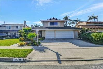 14381 Acacia Drive, Tustin, CA 92780 - MLS#: PW20036631