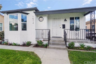 1512 E Poinsettia Street, Long Beach, CA 90805 - MLS#: PW20064674