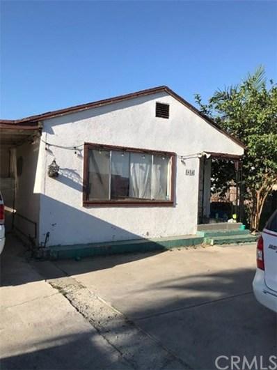 8484 Cypress Avenue, Riverside, CA 92503 - MLS#: PW20136674