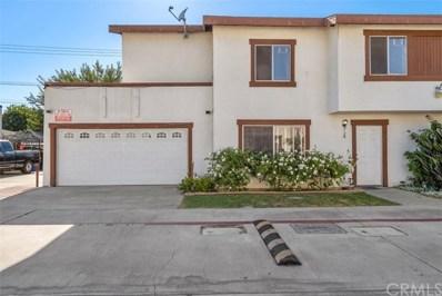4358 Elizabeth St UNIT K, Cudahy, CA 90201 - MLS#: PW20153038