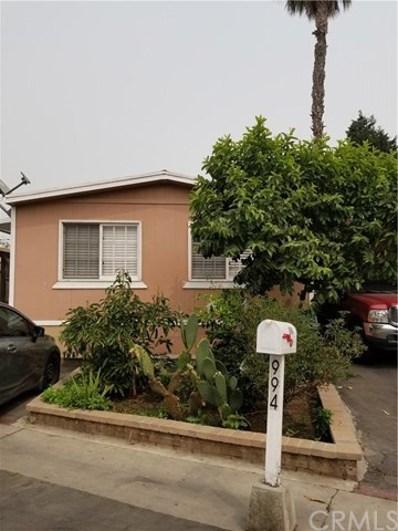 6475 Atlantic Ave. UNIT 994, Long Beach, CA 90805 - MLS#: PW20191008