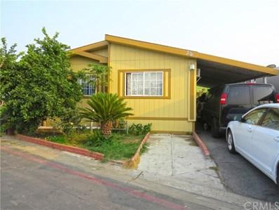 518 S Sullivan Street UNIT 41, Santa Ana, CA 92704 - MLS#: PW20194365
