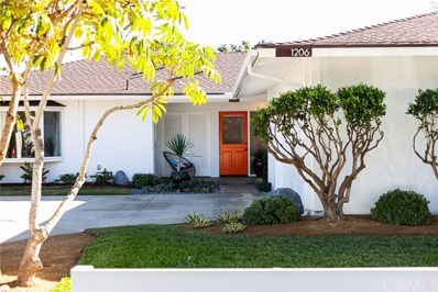 1206 Pembroke Lane, Newport Beach, CA 92660 - MLS#: PW20243650