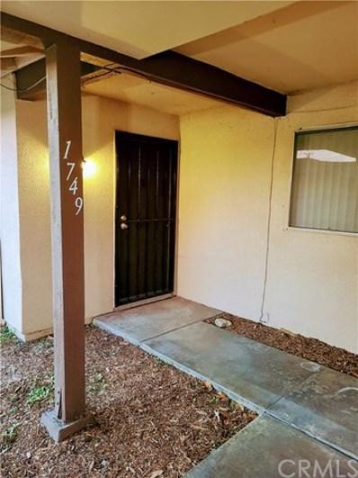 1749 Benedict Way, Pomona, CA 91767 - MLS#: PW21009186