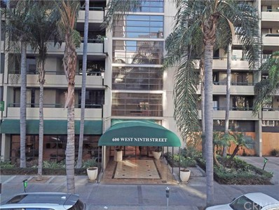 600 W 9th Street UNIT 512, Los Angeles, CA 90015 - MLS#: PW21032867
